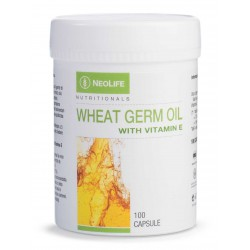 Wheat Germ Oil with vitamin E / sveikaseima.lt