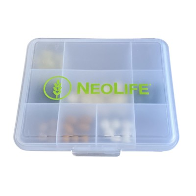 """""""NeoLife"""" dėžutė vitaminams"""